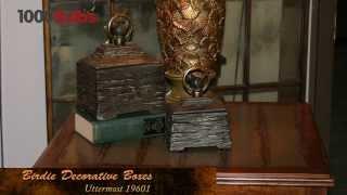 Uttermost Birdie 19601 Ceramic Decorative Boxes