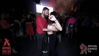 Talal Benlahsen & Nerea Perez - Salsa social dancing | Amsterdam International Salsa Festival 2019