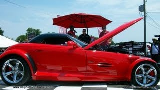 2012 Chrysler Nationals 6.1 Hemi Prowler reveal interview  Dodge- SRT Showcase