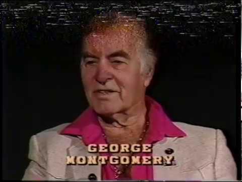 George Montgomery--Rare TV Interview, Dinah Shore