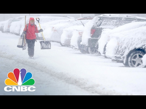 Biggest Snow Totals Of Season Possible In Northeast | CNBC