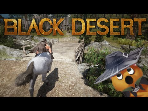 Black Desert CBT3 - Horse riding tour
