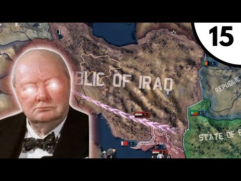 Iraq War [Hoi4 Cold War Iron Curtain: A World Divided: United Kingdom] Ep. 15