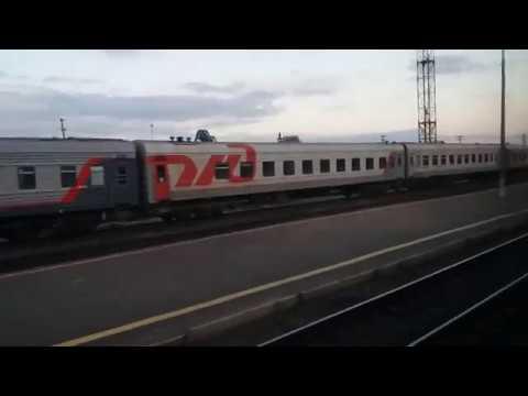 Поездка на поезде от Архангельска до Исакогорки