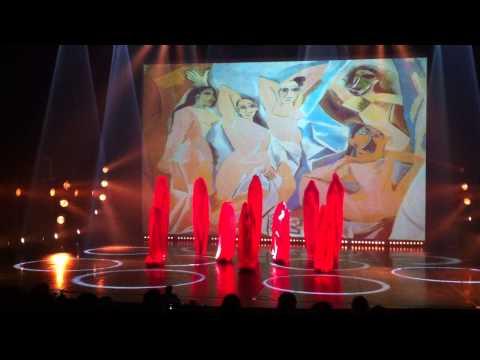 Les Demoiselles d'Avignon, spectacle Art danse; Chorégraphie de Laure Imbert