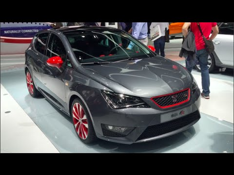 seat ibiza fr 2016 in detail review walkaround interior. Black Bedroom Furniture Sets. Home Design Ideas