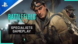 Battlefield 2042 - First Look at New Specialists - PS5, PS4