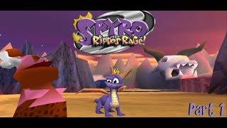 Twitch Livestream | Spyro 2: Ripto's Rage Part 1 [PS EMU] {FR}