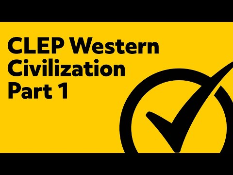 Free In-depth CLEP Western Civilization 1 Study Guide