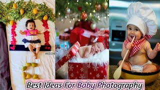 Photograph Ideas for Baby/photoshoot Idea for kids/baby photoshoot at home/picture ideababy boy&girl