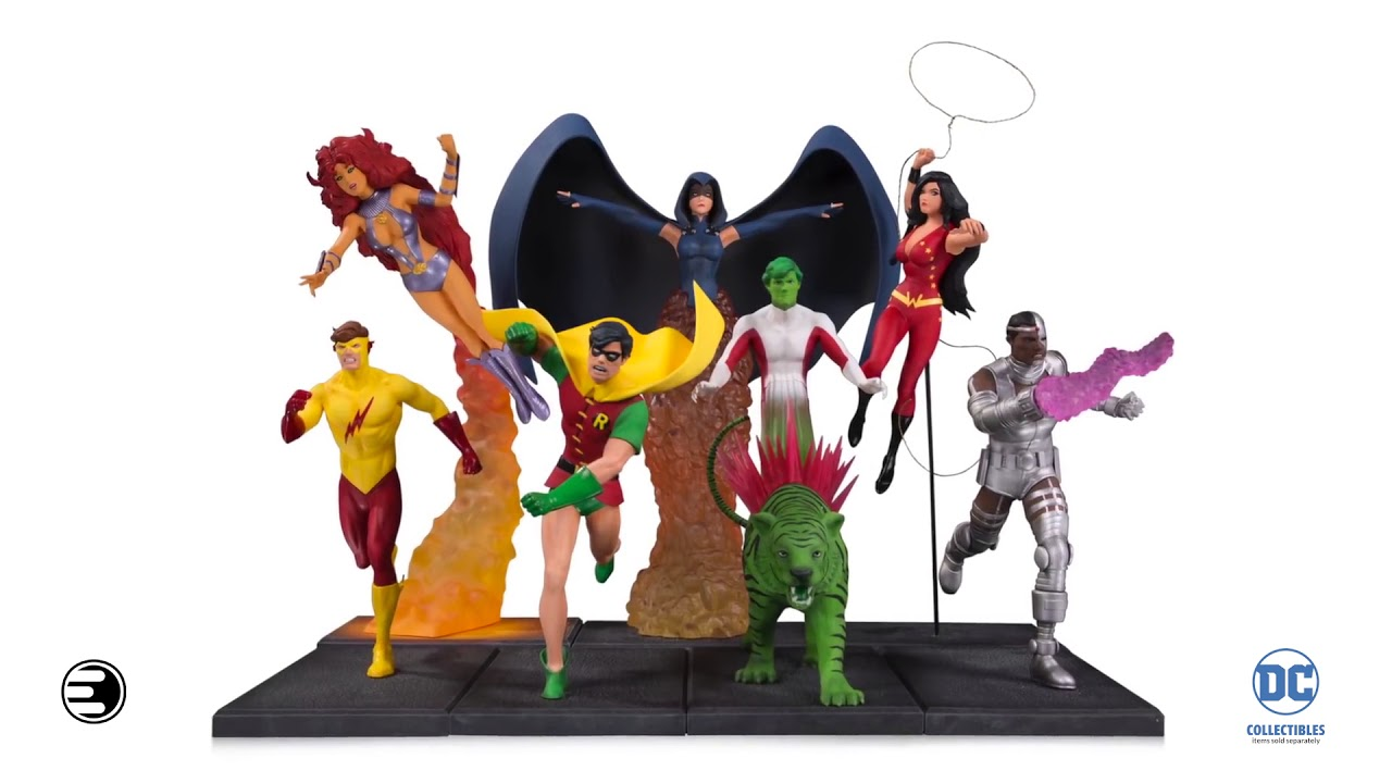New Teen Titans ROBIN 6in Action Figure DC Direct Toys