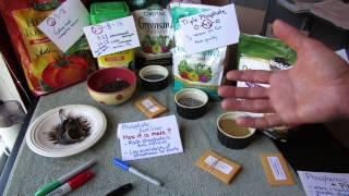 Vegetable Garden Fertilizers Nitrogen Phosphorous Pot Ium