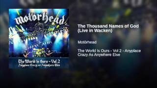 The Thousand Names of God (Live in Wacken)