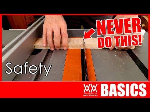 6 Keys to Shop Safety | WOODWORKING BASICS