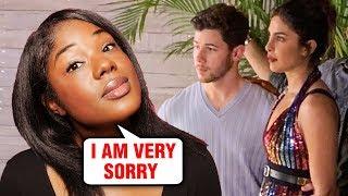 The CUT Writer Mariah Smith APOLOGY To Priyanka Chopra Nick Jonas