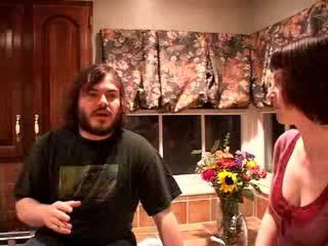 Jack Black on the 'Cooking with Rockstars' show