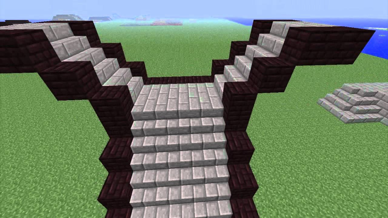 Minecraft Better Your Building Stairs And Stairwells