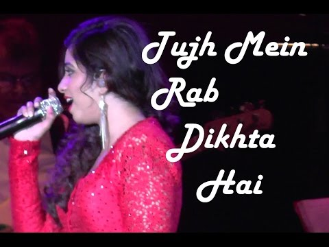 Shreya Ghoshal live in the Netherlands: Tujh Mein Rab Dikhta Hai