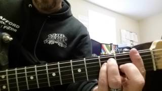 """Def Leppard """"Love Bites"""" Intro & Verse - Learning Guitar"""