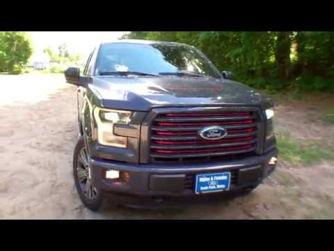 best price lowest price 2016 ford f 150 lariat sport for sale near portland maine youtube. Black Bedroom Furniture Sets. Home Design Ideas
