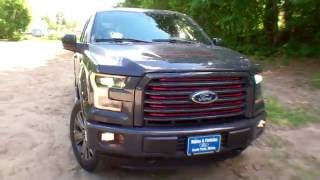 Best Price Lowest Price 2016 Ford F-150 Lariat Sport For Sale Near Portland Maine