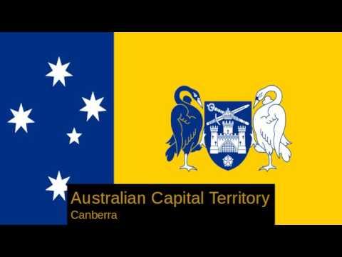 Sates and Territories of Australia