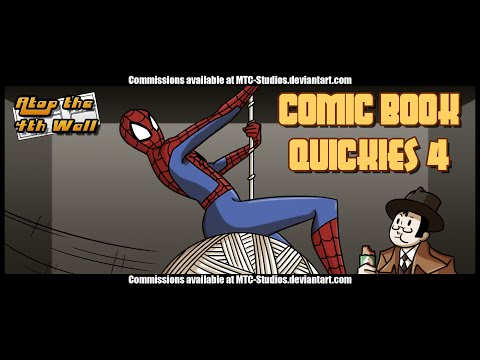 Comic Book Quickies #4 - Atop the Fourth Wall