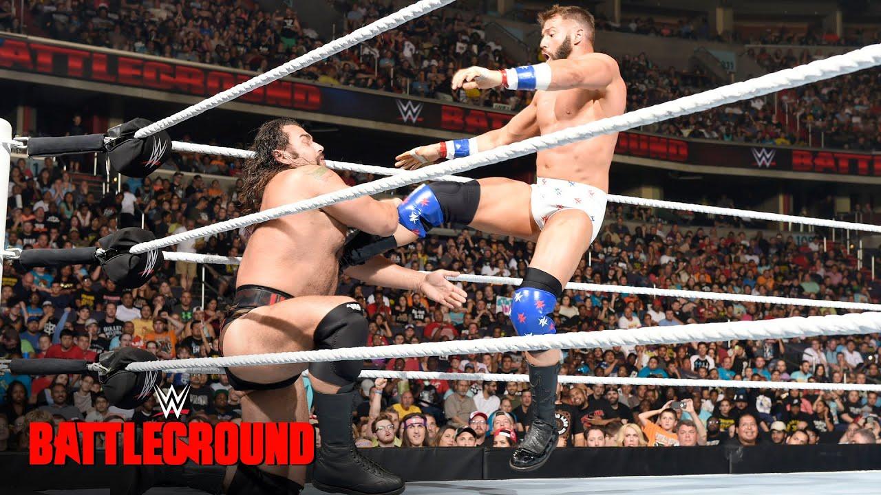 Image result for Rusev vs. Zack Ryder – Battleground