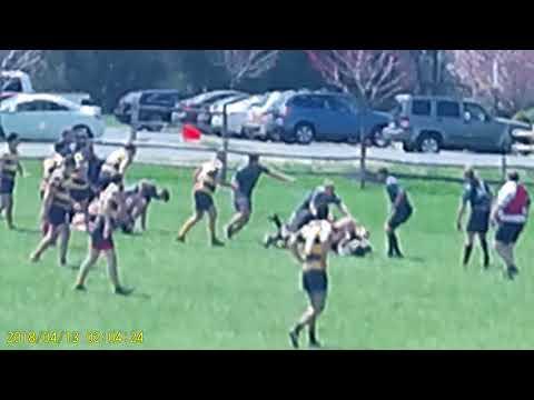 Jersey Shore Sharks Rugby vs Media 2nd Half