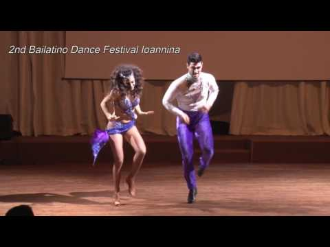 2nd Bailatino Dance Festival Ioannina Thodoris & Elektra Athens