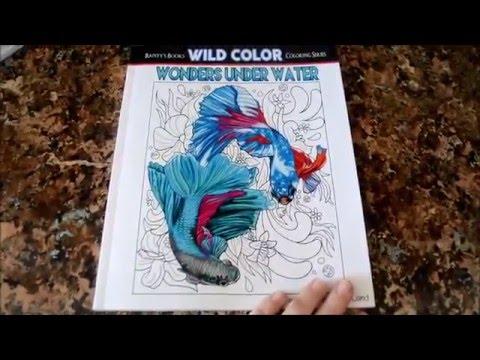Wonders Under Water Adult Coloring Book