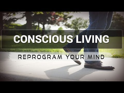 Conscious Living affirmations mp3 music audio - Law of attraction - Hypnosis - Subliminal