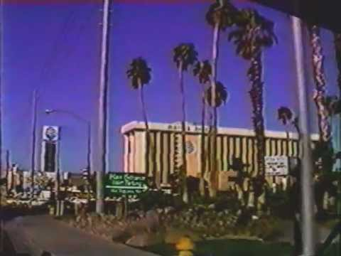 Las Vegas Strip street drive from 1988