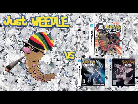 Can You Beat Pokemon Pearl/Diamond/Platinum With Just A Weedle?