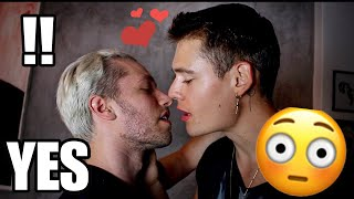 I SAID YES TO EVERYTHING FOR 24 HRS! Kissing a GUY for the FIRST TIME...