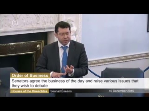 Uproar in the Seanad