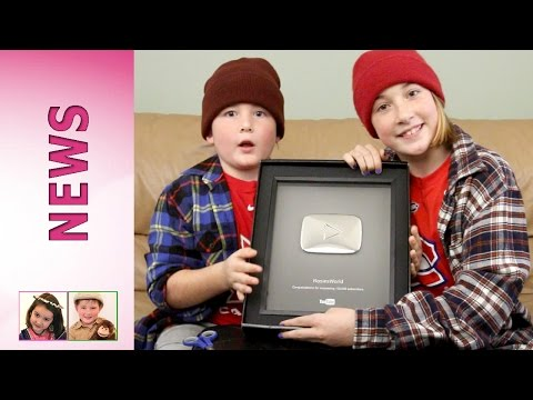 youtube-silver-play-button-award---unboxing