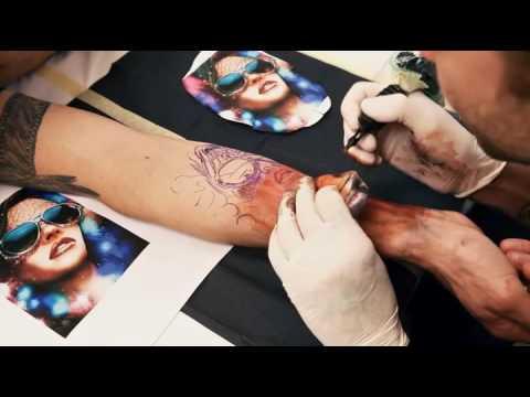 Tutorial Tatuaje Realista A Color Rostro De Mujer Ojo Realista