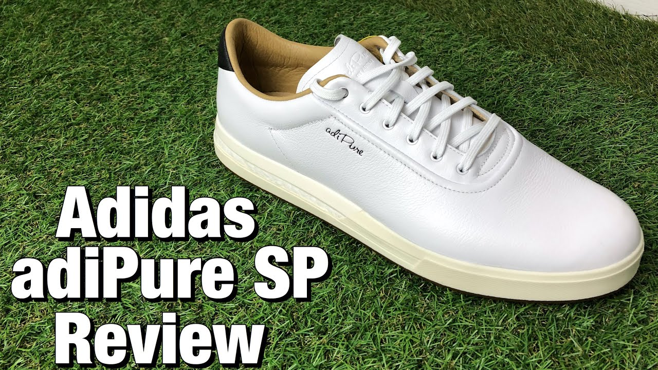 Adidas Adipure Sp Golf Shoes Review The Best Looking Spikeless Golf Shoes Youtube