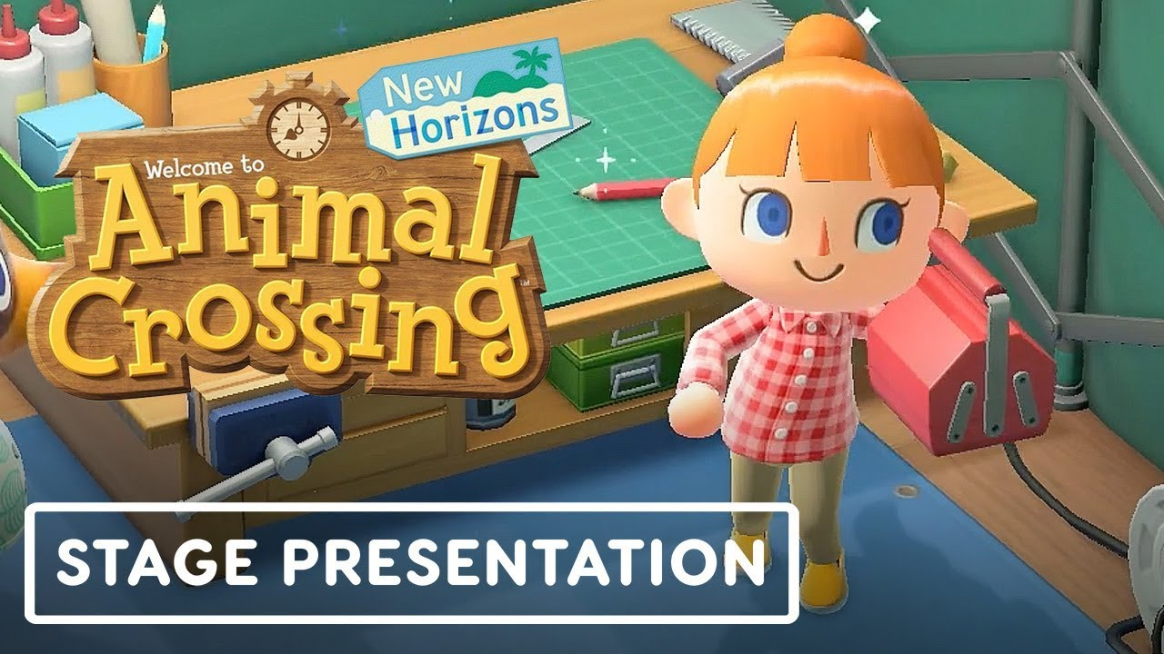 Animal Crossing New Horizons Vollständige Gameplay-Präsentation - E3 2019 + video
