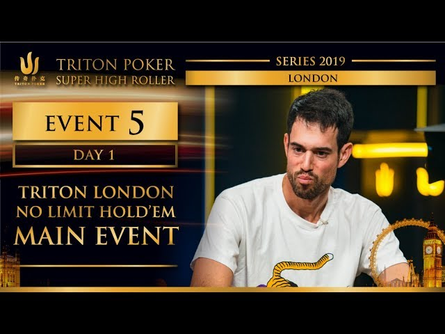 Triton London 2019 - Triton London NLH Main Event £100K - Day 1