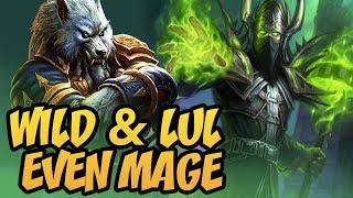 Wild & Lul Even Mage | Rastakhan's Rumble | Hearthstone