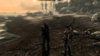 TES V Скайрим-драконья и даэдрическая броня