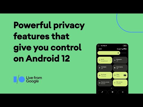 #Android12 Powerful privacy features that give you control