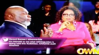 TD Jakes Instincts on Life Class-You cant explain to a turtle a giraffe decision @TrinaDivaa #NLNLWT