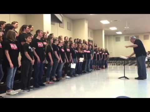 Cabot Junior High North Choir - 05192015