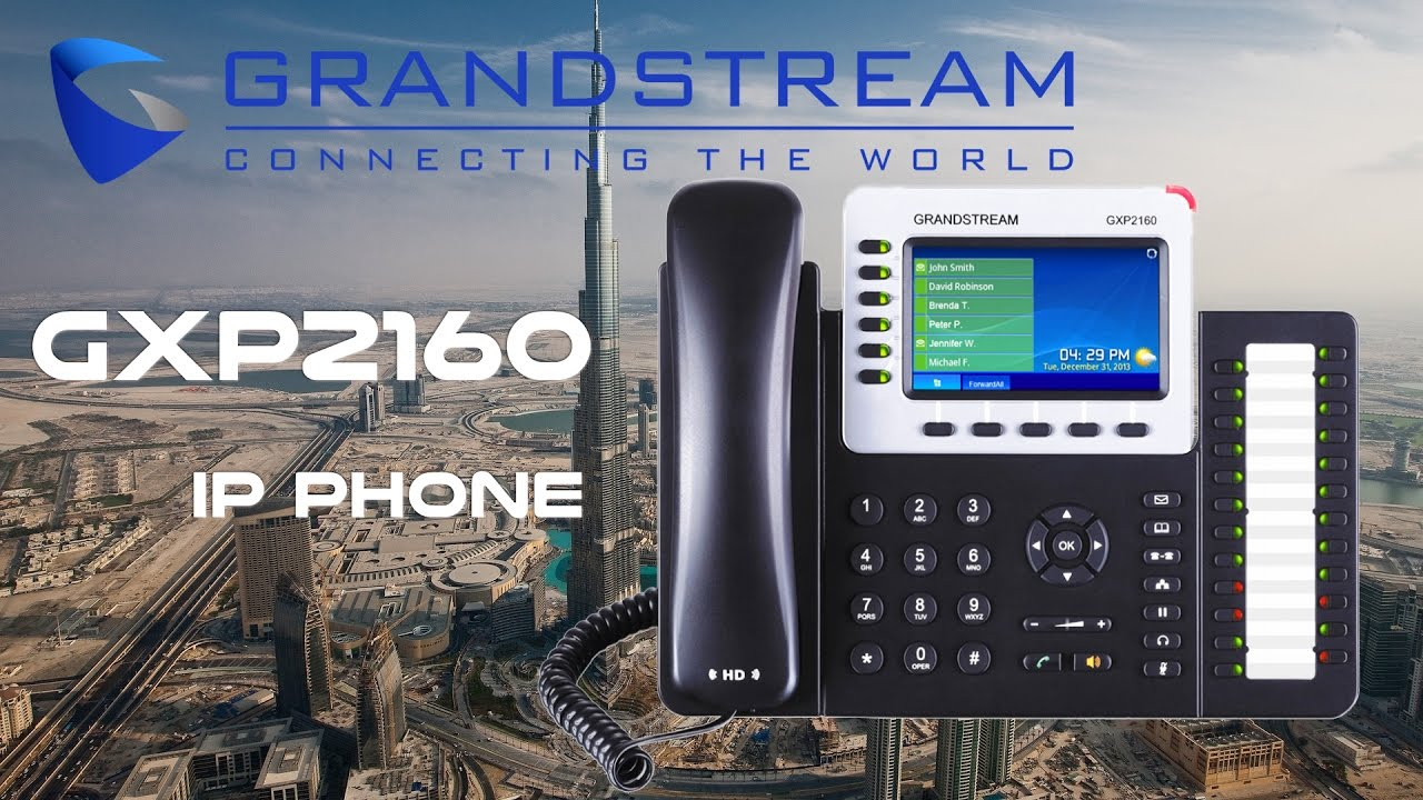 Grandstream GXP2160 IP Phone Driver Download