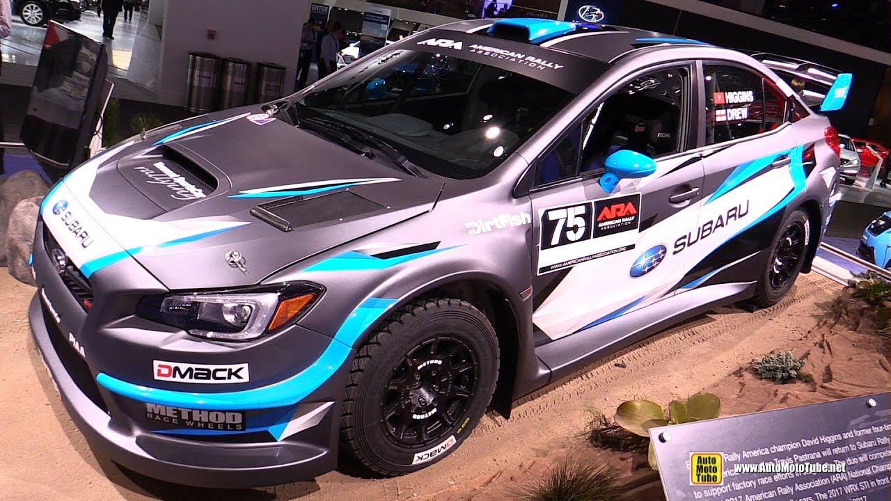 2017 Subaru WRX STI American Rally Association Racing Car ...