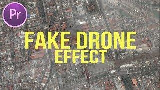 Cara Membuat Efek Drone Palsu (Fake Drone Effect)