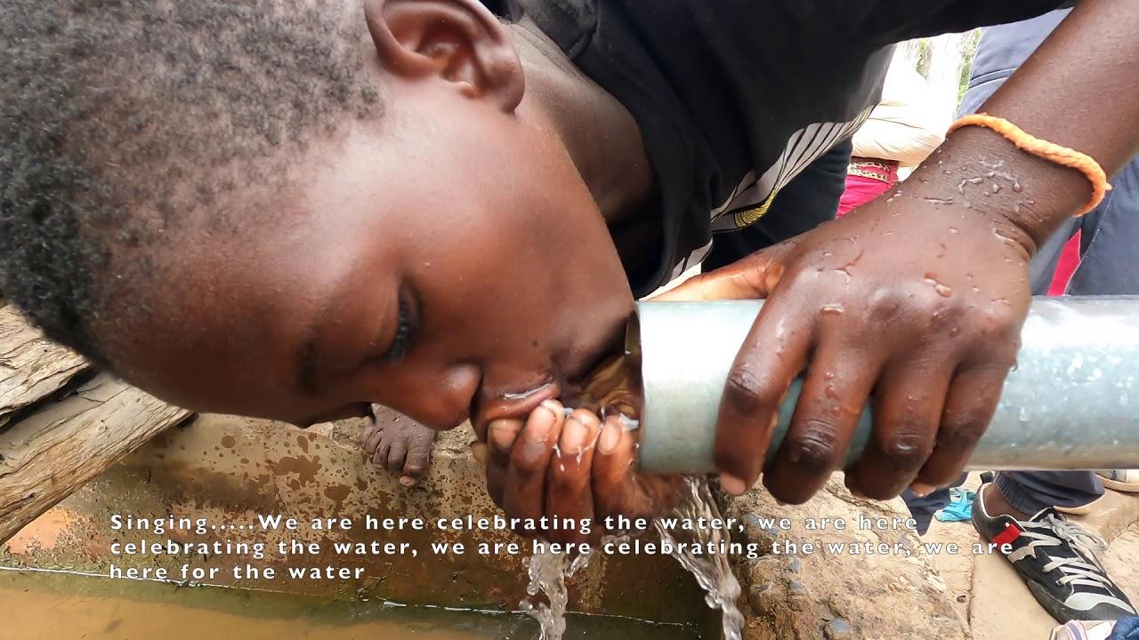 Bonke Village Celebrates Their Water Well